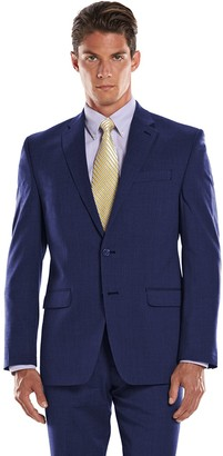 Chaps Men's Performance Classic-Fit Wool-Blend Comfort Stretch Suit Jacket