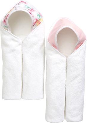 Honest Baby 2-Pack Organic Cotton Bath Towels