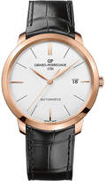 Girard Perregaux GIRARD-PERREGAUX 49555-52-132-BB60 1966 alligator-leather and 18ct rose-gold watch