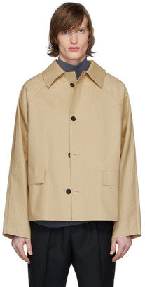 Kassl Editions Beige Original Trench Jacket