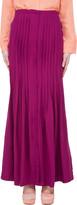 By Malene Birger Silk Blend Rasberry Pleat Skirt