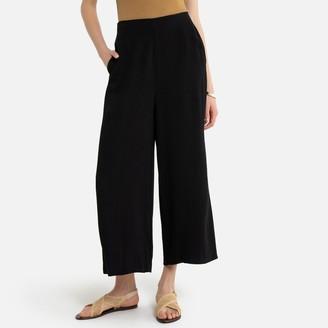"La Redoute Collections Wide Leg Culottes, Length 22.5"""