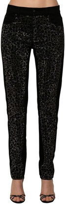 Philosophy di Lorenzo Serafini Embellished Cotton Denim Jeans