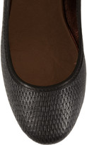 Twelfth St. By Cynthia Vincent Embossed leather ballet flats