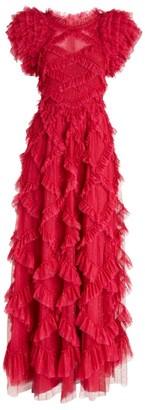 Needle & Thread Genevieve Ruffled Gown