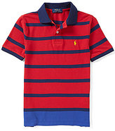 Ralph Lauren Big Boys 8-20 Striped Polo Shirt