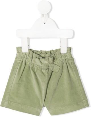 Il Gufo Velvet Bermuda Shorts