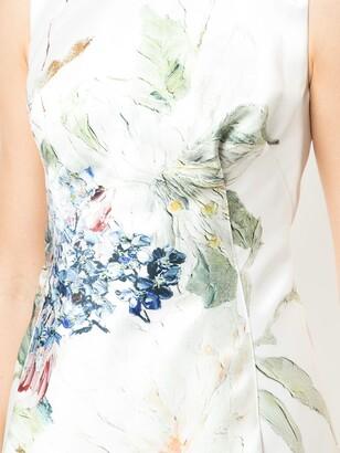 Rubin Singer Printed Cocktail Dress