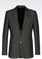 Emporio Armani Jacket In Jacquard