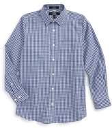 Nordstrom Boy's Non-Iron Check Dress Shirt