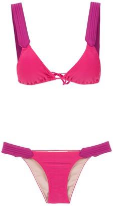 Adriana Degreas Plain Bikini Set
