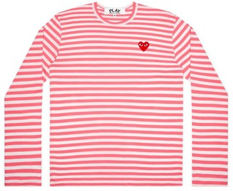 Comme des Garcons Striped Long-Sleeve Shirt
