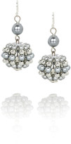 Serena pearl drop earrings