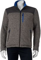 ZeroXposur Men's Density Reversible Sweater-Fleece Hybrid Jacket
