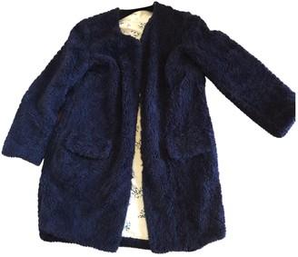 Bellerose Blue Faux fur Coat for Women