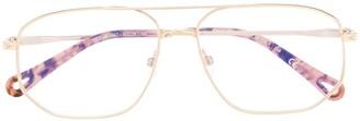 Chloé Double Nose-Bridge Glasses
