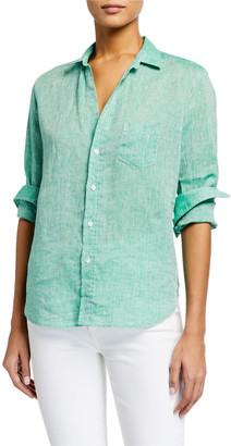 Frank And Eileen Eileen Chambray Linen Button-Down Shirt