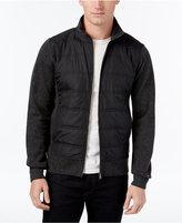 Tommy Hilfiger Men's Quilted Zip-Front Jacket