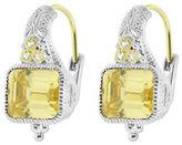Judith Ripka Estate Cushion Earring on wire