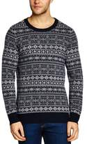 Samsoe & Samsoe Samsoe and Samsoe Men's Miba Crew Neck Long Sleeve Jumper