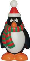 JCPenney General Foam Plastics Outdoor Holiday Penguin wtih Red & Green Scarf