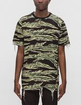 Black Scale Destroyed S/S T-Shirt