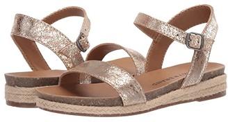 Lucky Brand Kids Gaelia (Little Kid/Big Kid) (Soft Gold) Girl's Shoes