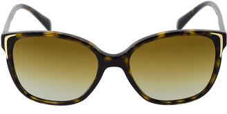 Prada Havana Polarized Sunglasses
