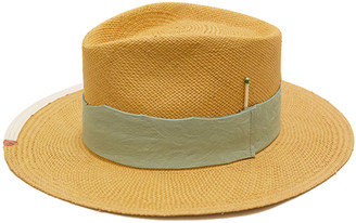 Nick Fouquet Playa Verde Straw Fedora Hat