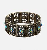 Avenue Iridescent Filigree Stretch Bracelet