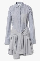Derek Lam Tie Waist Shirtdress