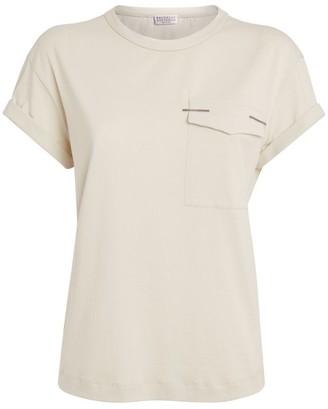 Brunello Cucinelli Pocket-Detail T-Shirt