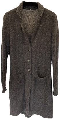 Nice Connection Grey Cashmere Coat for Women