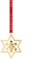 Georg Jensen Snowflake Mobile 1987/2017 Tree Decoration, Gold