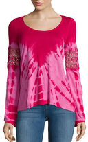Jessica Simpson Long Sleeve Laurine Top