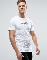 Jack and Jones Core T-Shirt With Future Print Graphic
