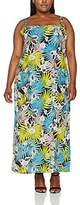 Evans Women's Palm Ring Maxi Dress
