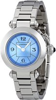 Cartier Women's W3140024 Miss Pasha Blue Dial Watch