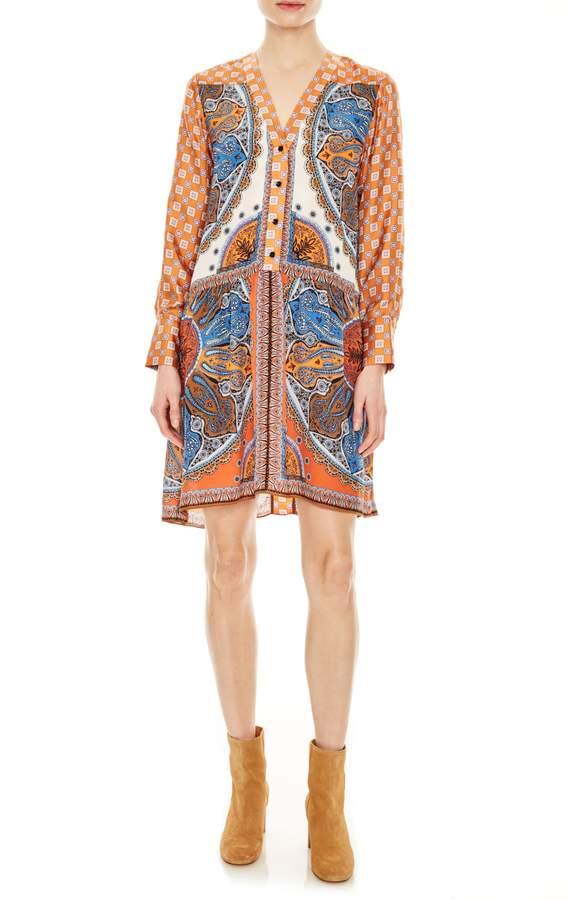 33bfc9e627fe18 Long Sleeve Shirt Dress - ShopStyle