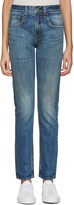 Rag & Bone Blue Marylin Jeans