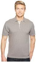 True Grit Vintage Soft Slub Jersey Short Sleeve Polo w/ Contrast Men's Clothing