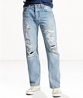 Levi's 501® Distressed Original-Fit Straight Jeans