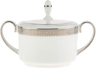 Wedgwood Lace Platinum Sugar Bowl