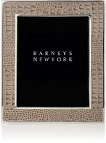 "Barneys New York Croc-Embossed 8"" x 10"" Picture Frame"