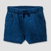 Cat & Jack Toddler Girls' Jogger Shorts Indigo