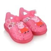 Igor IgorGirls Fuchsia Tobby Peppa Pig Jelly Sandals