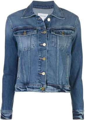 Frame slim-fit denim jacket