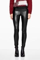 Paige Paloma Faux Leather And Ponte Leggings