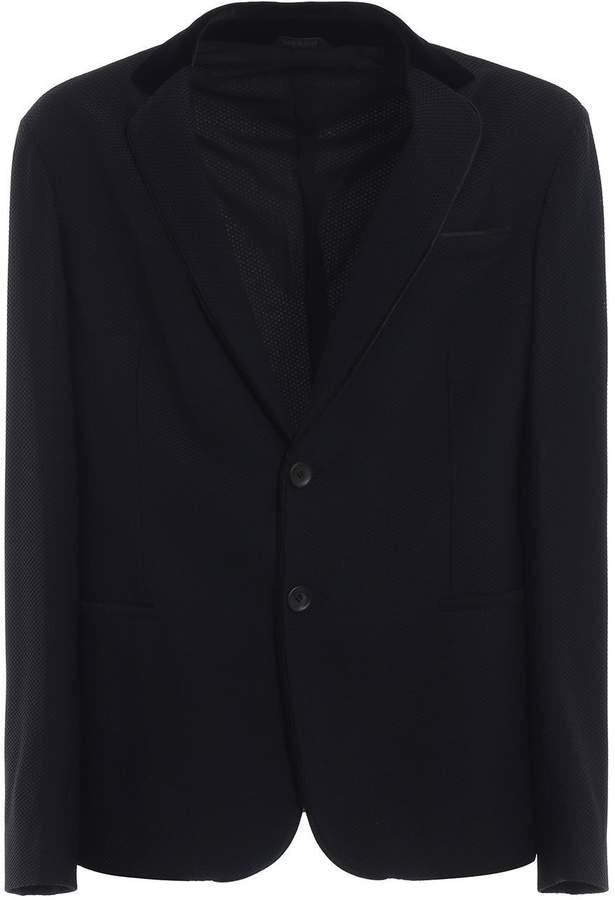 Giorgio Armani Textured Blazer