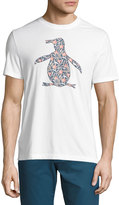 Original Penguin Floral Pete Graphic Tee, White